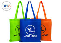 80gsm-120gsm Non Woven Polypropylene Tote Bags Customized Logo Bottom Gusset
