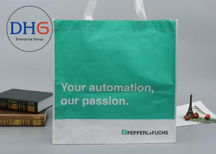 Medium Size Non Woven Tote Bag 80gsm Ultrasonic 2.5cm Handle